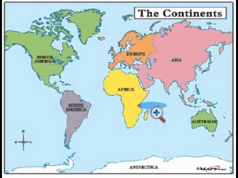 THE SCATTERED TRIBES DISPERSED THROUGH THE CONTINENTS - What continent is israel located