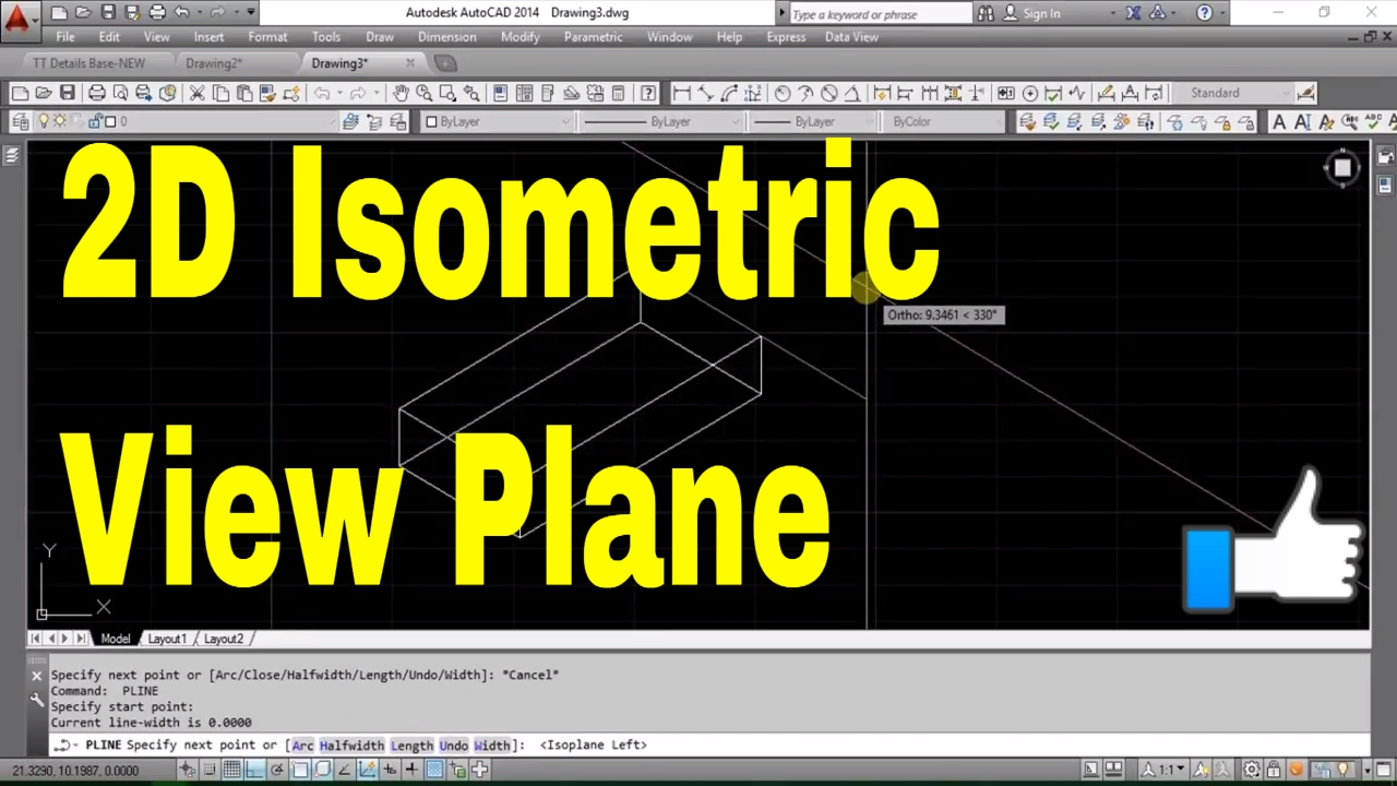 How to change isometric planes autocad for mac