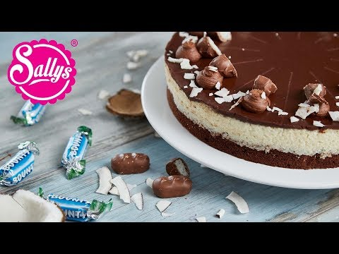 Bounty Torte – Schokoladen Kokostorte / Sallys Welt