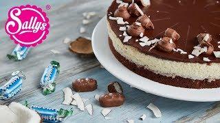 Bounty Torte – Schokoladen Kokostorte