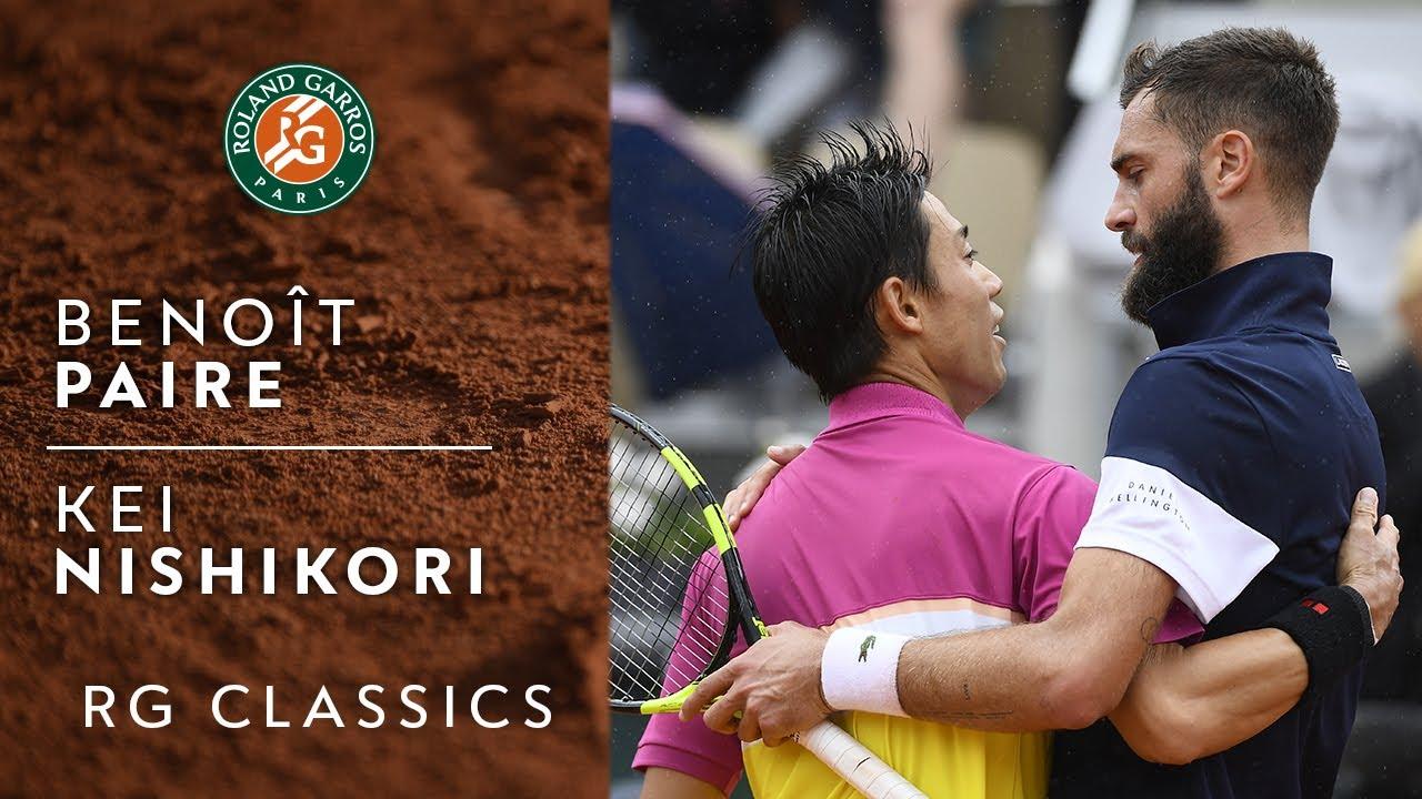 RG Classics - Benoît Paire vs Kei Nishikori - 2019 | Roland-Garros