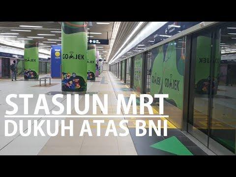 Night Walking ~ Stasiun MRT Dukuh Atas BNI ~ BNI City ~ KRL Sudirman ~ Jl Blora ~ Jl Kendal Jakarta