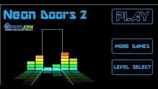 Neon Doors 2 Walkthrough Video