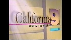 KCAL TV Los Angeles Channel 9 - News Open & Close (1993 & 1994)