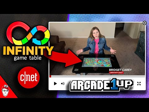 Arcade1up - Infinity Game Table is now in the wild! from Console Kits