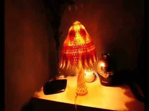 origami 3d abat jour youtube. Black Bedroom Furniture Sets. Home Design Ideas