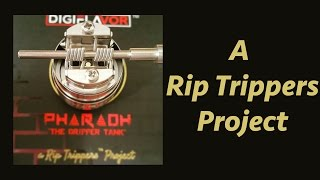 the Pharaoh Dripper Tank! A Rip Trippers Project! 10 Tank Giveaway!