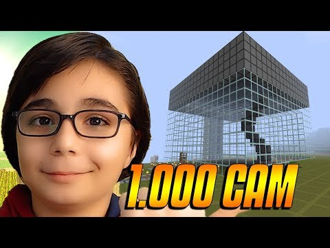 1.000 CAM İLE EGG KAPLAMAK !!! | Minecraft: EGG WARS BKT