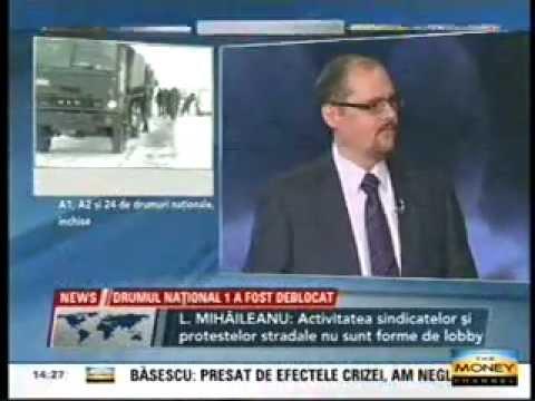 """Rezultatele studiului """"Lobby in Romania"""" (2012) comentate de Liviu Mihaileanu la Money Channel"""