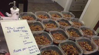 How to meal prep LIKE A BOSS!