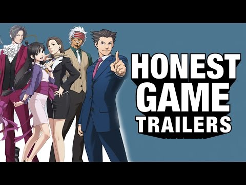 ACE ATTORNEY (Honest Game Trailers)