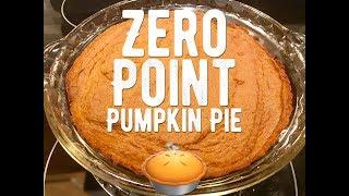 Weight Watchers Freestyle - Zero Point Pumpkin Pie!! Easy!