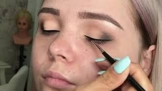 доброе утро 😃ловите нежнятину 😊😊😊😊какой макияж любите вы ? нежный или яркий  🔥Сказать какои