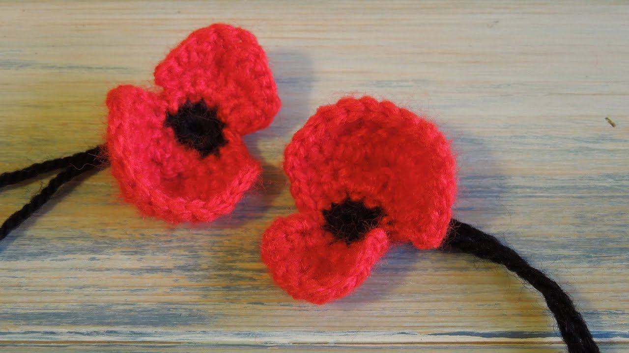 Crochet how to crochet a poppy youtube crochet how to crochet a poppy youtube bankloansurffo Image collections