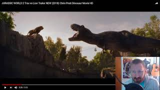REXY (The T-Rex) vs Lion - Has it gone Too Far?  Jurassic World 2