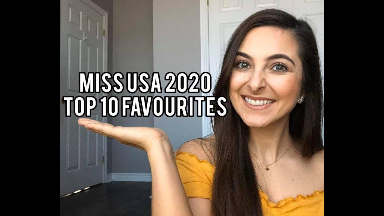 Miss USA 2020 Top 10 Favourites