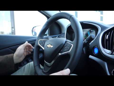 Sam talks with Larry Chretien about Drive Green and test drives a Chevy Volt