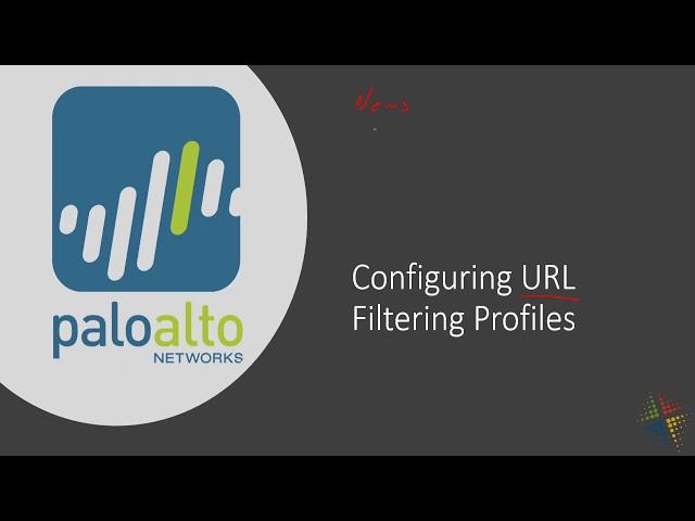 Configuring Palo Alto URL Filtering Profiles