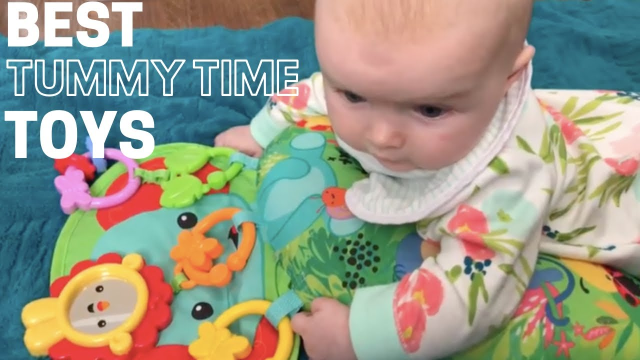 3 Best Tummy Time Toys For Babies Youtube