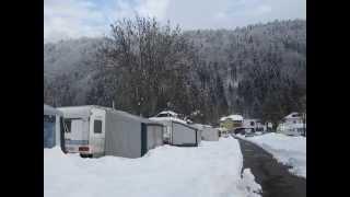 Februar 2014 Camping Brunner am See