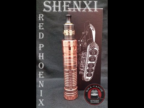 Red Phoenix Copper Panzer by RBA VAPOR
