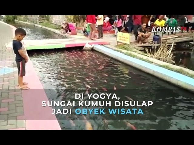 Keren Sungai Kumuh Di Yogya Disulap Jadi Tempat Wisata Youtube