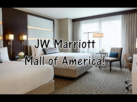 JW Marriott Minneapolis Mall of America (MOA) Standard Room Tour