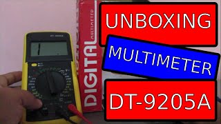 Review Digital Multimeter DT 9205A