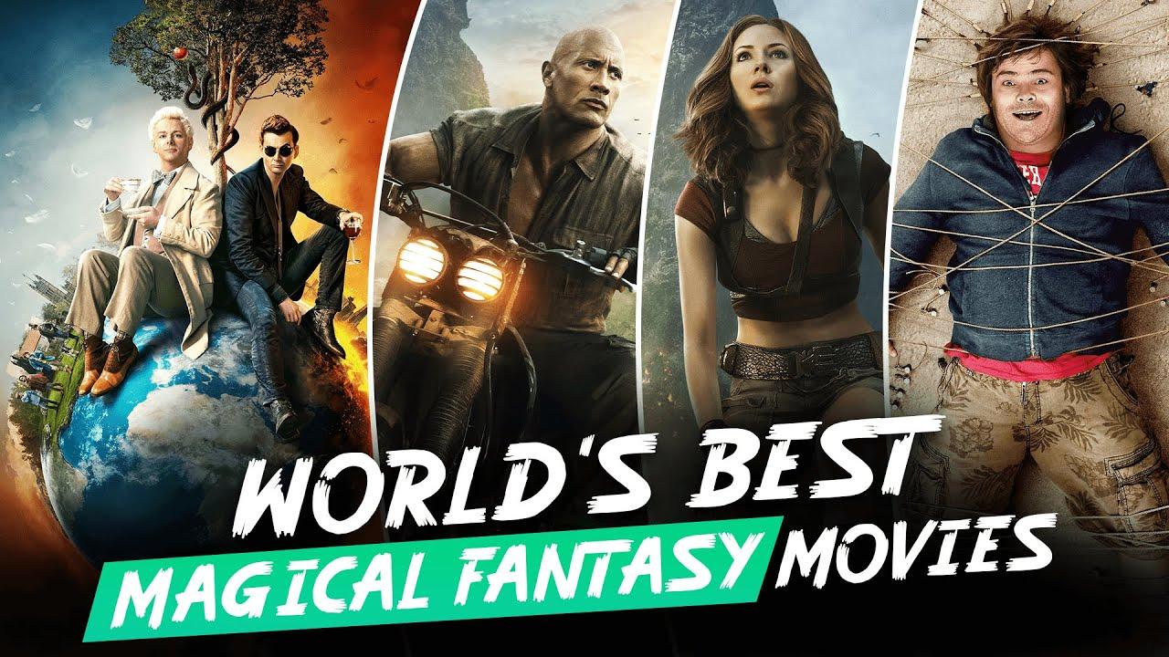 Download TOP 9 Best Magic Fantasy Movies in Hindi | 10 जादुई फिल्मे | Best Magic Fantasy Movie