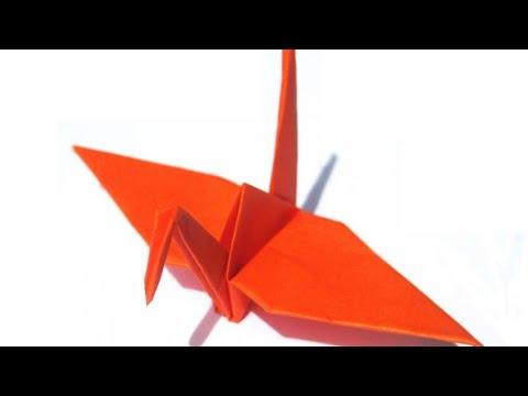 Origami Crane How To Make Crane Flapping Birdsorigami Crane Art