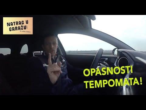 Ovo ne smijete raditi kada se vozite s Tempomatom! Natrag u garažu 6 by Juraj Šebalj