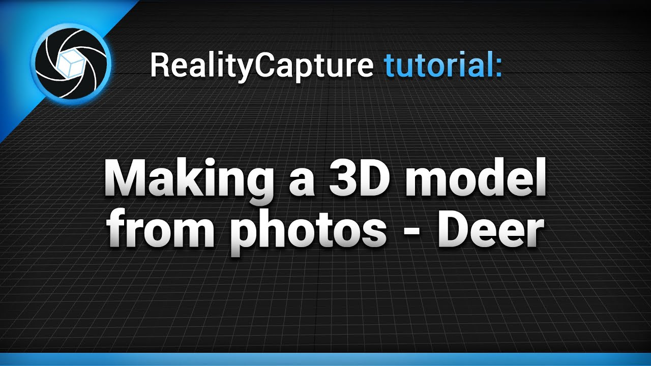 Realitycapture Making A 3d Model From Photos Deer Youtube