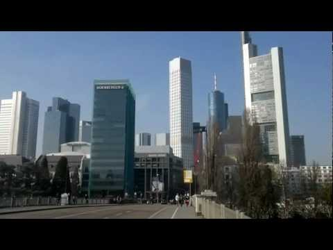 Frankfurt Am Main panorama view 360