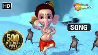 Bal Ganesh - Naache Dhin Dhin- Favourite Kids song thumbnail