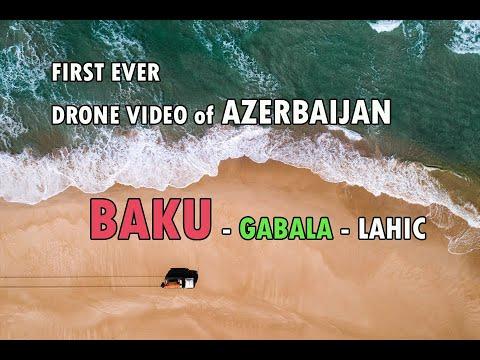 Azerbaijan Travel | First Ever HD Drone Video of Azerbaijan | Baku | Gabala