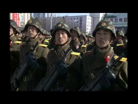 North Korea Military Parade - 8 February 2018 Live