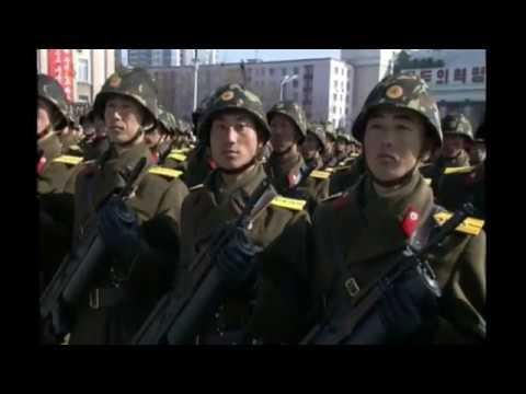 North Korea Military Parade - 8 February 2018