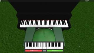 Roblox Virtual Piano - Roses by Chainsmokers