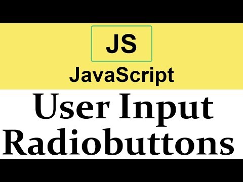 #21 Taking Input From Radiobuttons In Javascript