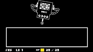 """Undertale - Mettaton says """"Oh Yes"""" 2,236,952,102 times."""