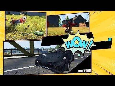 A Sport Car Level 4 Mushroom And Trap New In Free Fire