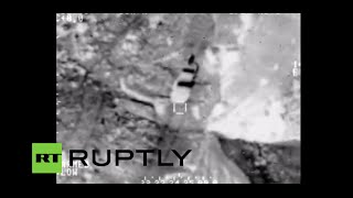 Combat Cam Iraqi Air Force Batter Isis Positions North Of Baghdad