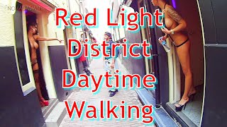 🚄EP45 Daytime Walking in Amsterdam Red Light District Eurail Global Pass 🌷 Netherlands 🇳🇱アムステルダム