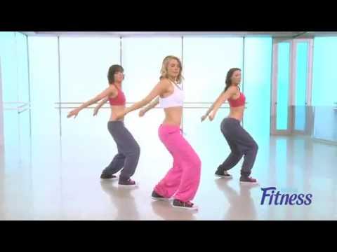 Rumba aerobic urban dance session