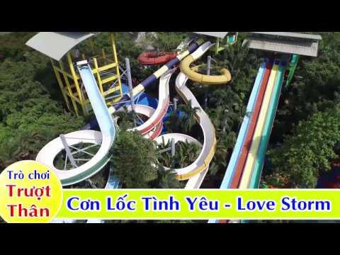 DAM SEN NUOC - Cụm những trò chơi trượt thân/ Công viên nước Đầm Sen