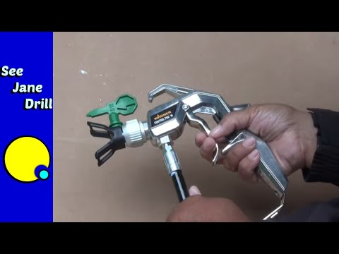 How To Use An Airless Sprayer/How To Paint FAST