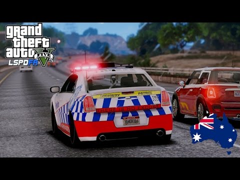 GTA 5 - NSW Police Mod - Concept Chrysler 300C Highway Patrol by ConsKrypt  - #OZGTA