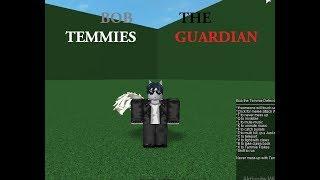 Roblox script showcase \Bob the temmies guardian/