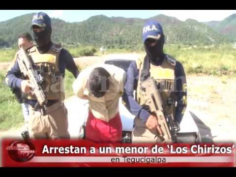 Arrestan a un menor de 'Los Chirizos' en Tegucigalpa