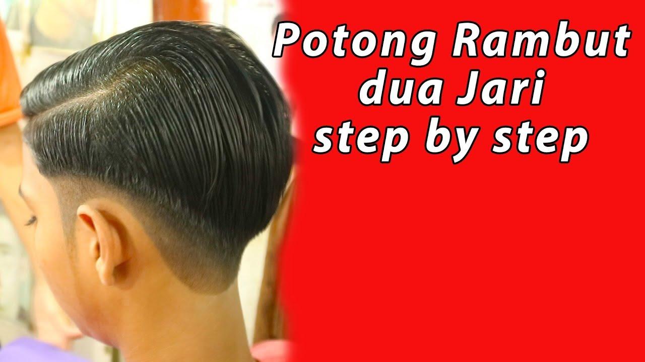 CARA POTONG RAMBUT DUA JARI ( TREND RAMBUT 2018 ) - YouTube 458c96e5d3